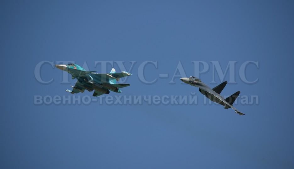 СУ-34 И СУ-35С