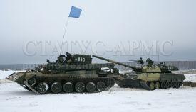 БРЭМ-1 и ОБТ Т-80У